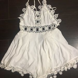 One piece romper by WhoIAm size 8 (Small Canadian)